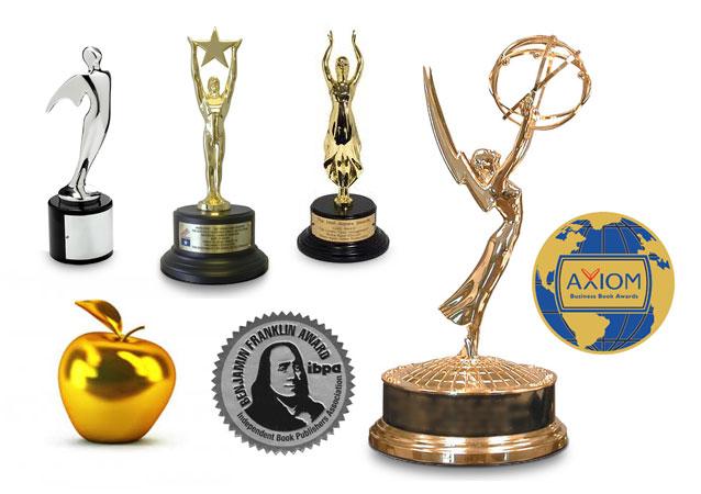 Awards on Mark Scharenbroich