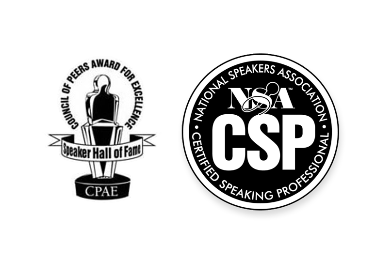 Mark Scharenbroich has earned the CSP and CPAE designations from the National Speakers Association