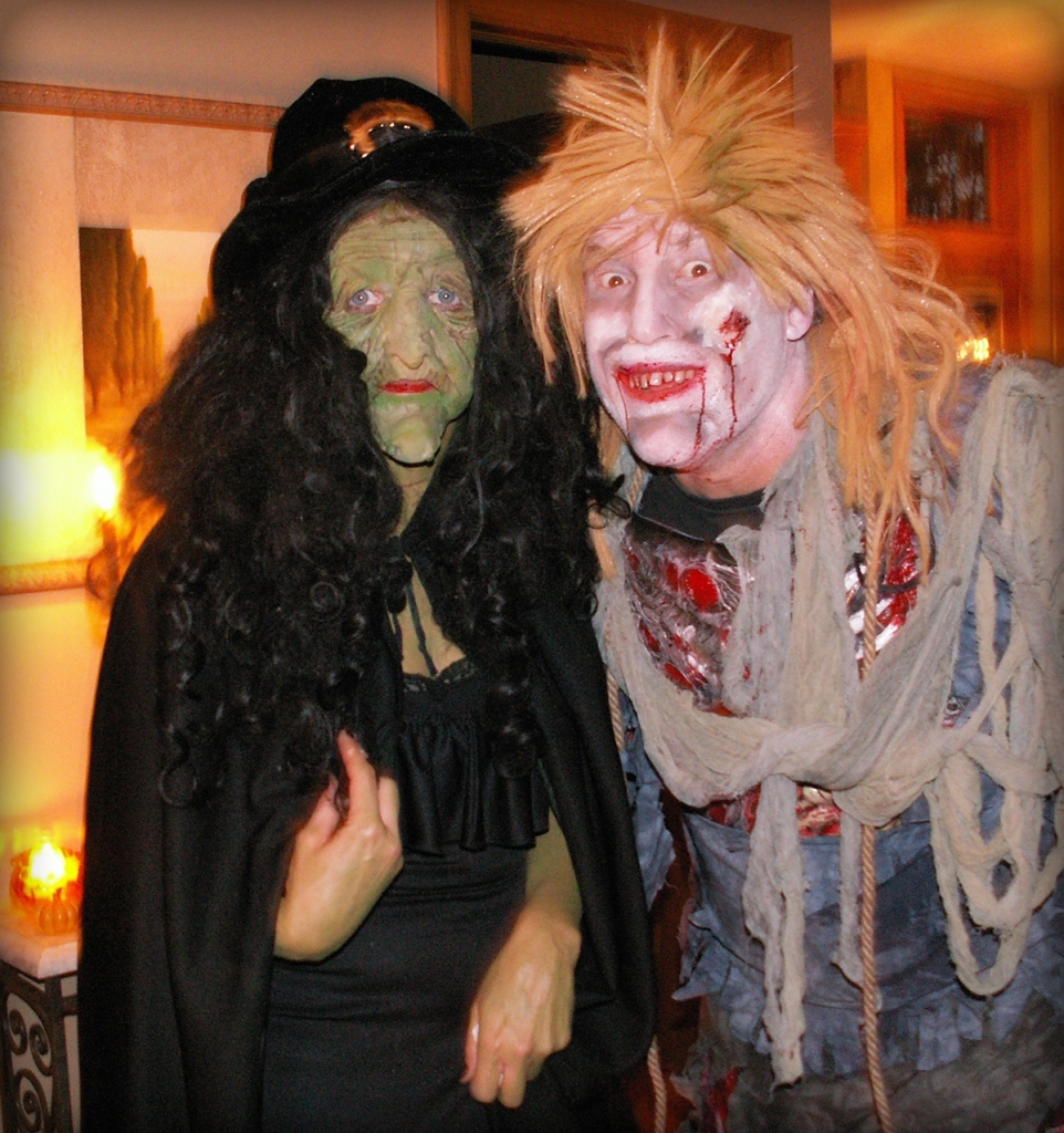 Halloween with Scary Sue Scharenbroich (and Igor).