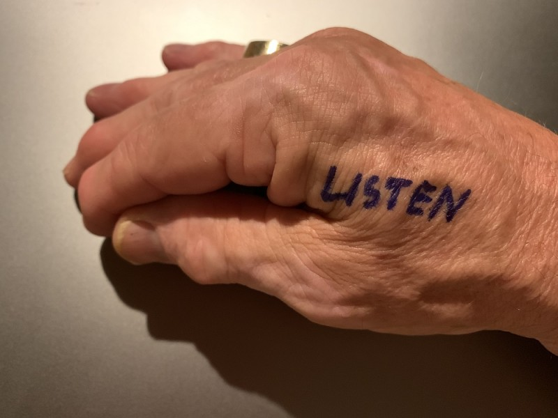 We think we listen, but do we listen with intent?