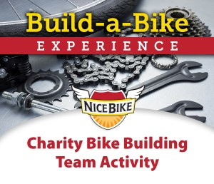Build-a-Bike Experience Charity Bike Building Team Activity