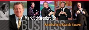 Mark Scharenbroich is an award winning international business professional keynote speaker