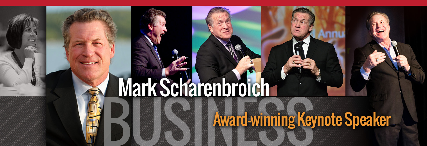 Mark Scharenbroich is an award winning international business professional keynote speaker