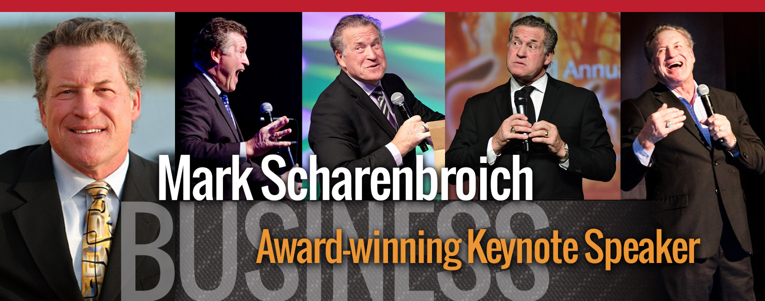 Mark Scharenbroich - Award-winning Keynote Speaker