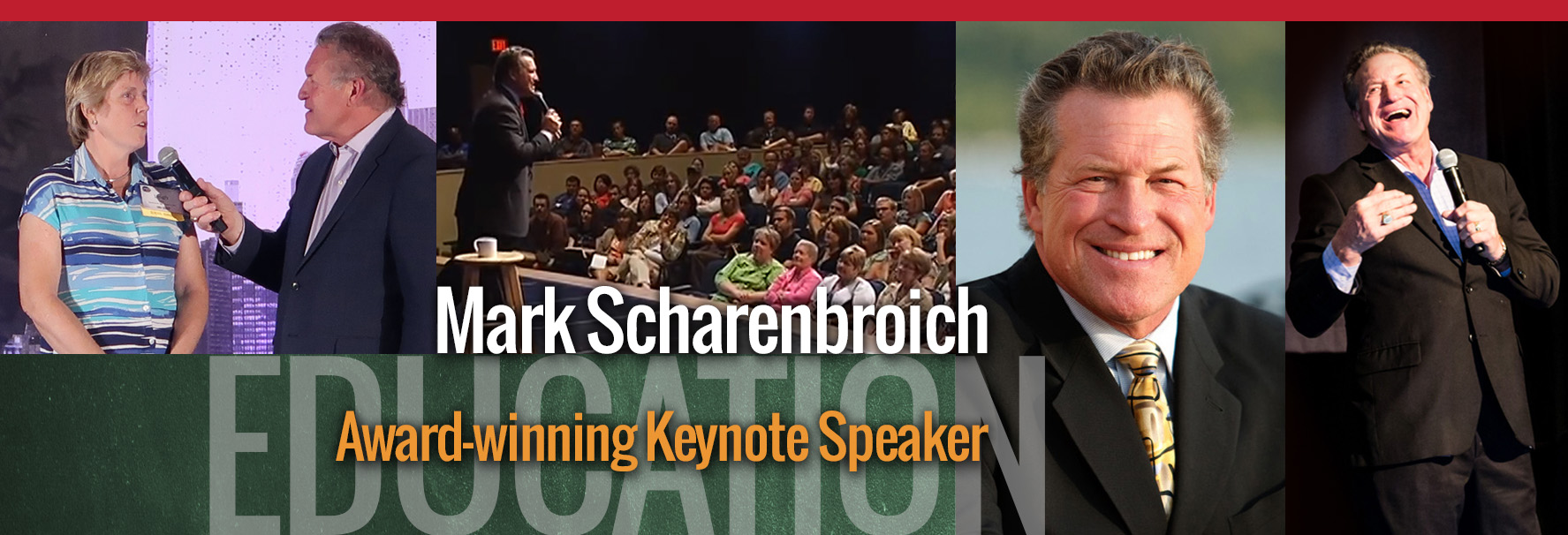 Education Motivational Speaker Mark Scharenbroich