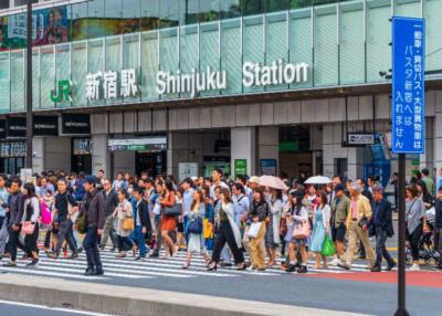 Nice Bike Lesson from Shinjuku Station